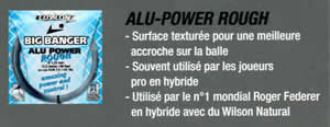 Luxilon Big Banger Alu Power Silver Rough